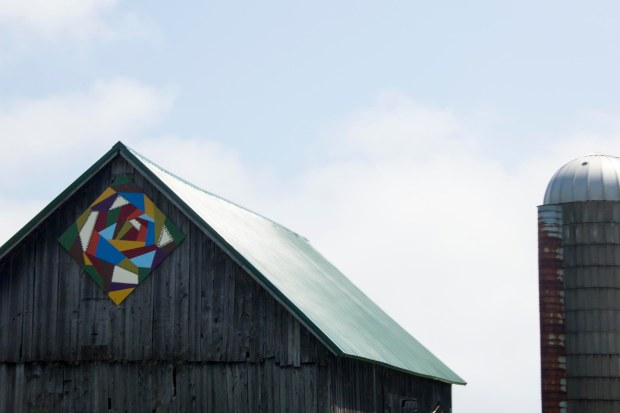 That's my kind of barn, my kind of quilt block, and probably, if I met them, my kind of people!