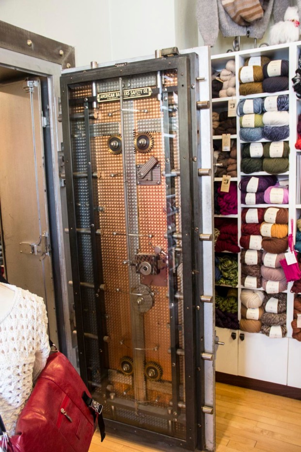 I think everyone secretly wishes they had a bank vault for their stash...
