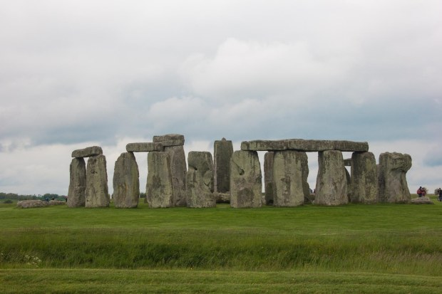 Stonehenge- which is not, we were told, an actual henge...