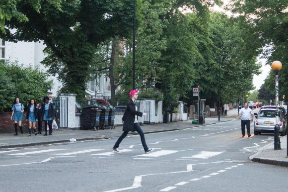 The Abbey Road Crossing!