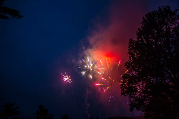fourth of  july fireworks photography