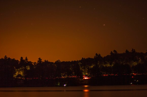 star photography skyline