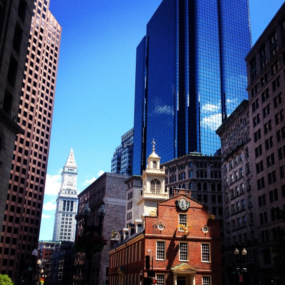 City Hall at downtown Boston, Massacusettes