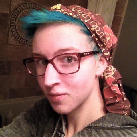 headscarf selfie