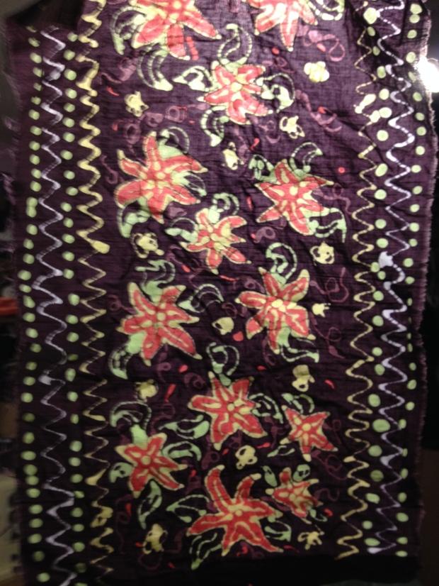 finished batik sampler