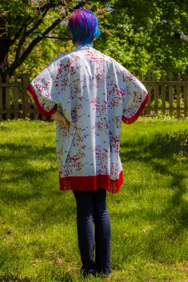 back of kimono sun cover tutorial