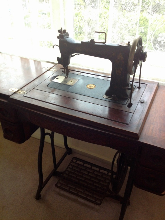 wheeler and wilson treadle sewing machine in New Zealand