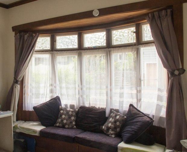 window seat cushions in progress